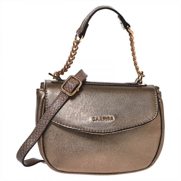 Carpisa Yasmin Satchel Bag For Women Bronze