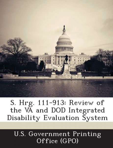 s hrg 111 913 review of the va and dod integrated disability