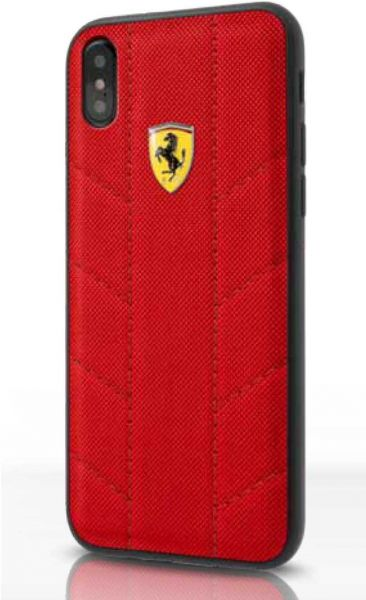 cheap for discount 57d60 ef5f7 Ferrari SF Hybrid Case for iPhone X - Red