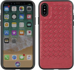 24ba44f486d8e Viva Madrid Tejido Back Case for iPhone X - Red