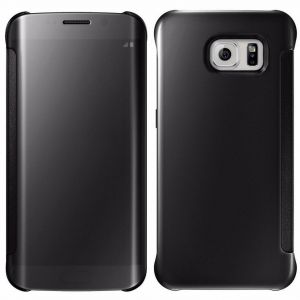 Margoun Flip Shell Mirror Case Cover Compatible with Samsung Galaxy Note 5 N920 in Black