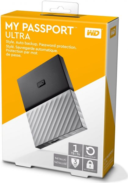 WD My Passport Ultra HDD Backup Driver (2019)