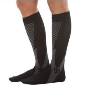 2fcab356b Knee High Compression Socks for Men and Women. leg support for sports and  daily activities.