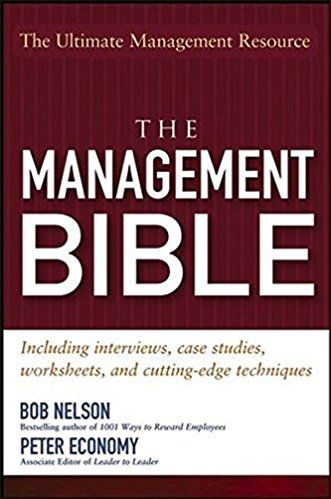 The Management Bible:Including Interviews,Case Studies,Worksheets&Cutting..Pb.