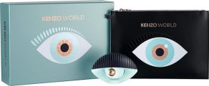 Kenzo World Gift Set for Women by Kenzo 2 Pieces | Eau de Parfum Spray 50ML + Fashion Pouch