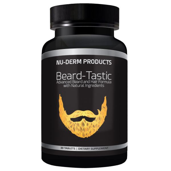 Beard-Tastic Beard Thickener Voted Best Beard Care Products  Beard Kit  Necessity Helps Beard Growth when used with Beard Oils and Beard Balms   Best