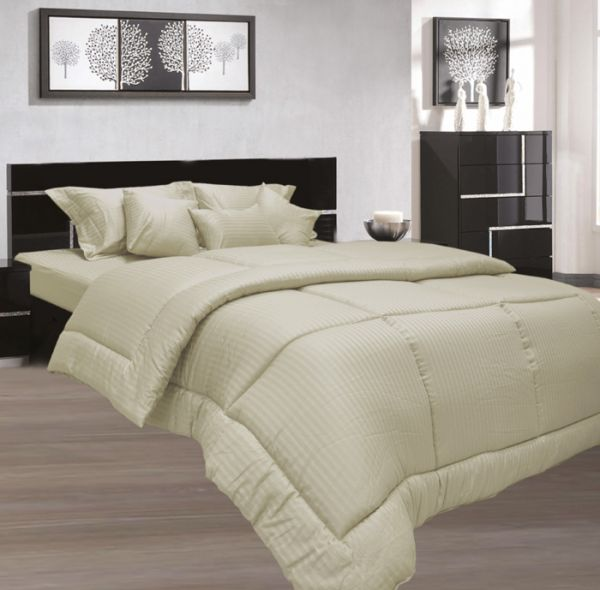Stone Single Size 100 X 200 + 30 Cm Hotel Linen Fitted Bed Sheet