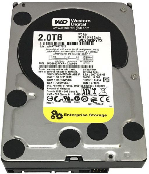 Western Digital WD BLACK Desktop 2TB Internal Hard Drive