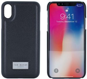 21b8782ed811e9 Ted Baker Inlay Hard Shell Case for Apple iPhone X - Champy Black