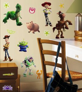 RoomMates RMK1428SCS Toy Story 3 Glow In The Dark Wall Decals