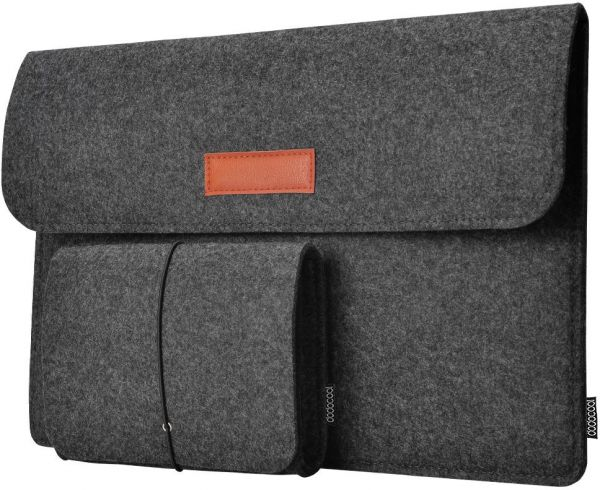 Felt Laptop Carrying Sleeve Case Cover Bag for 13 inch Laptop Apple Mac  Macbook Notebook  719e1c465