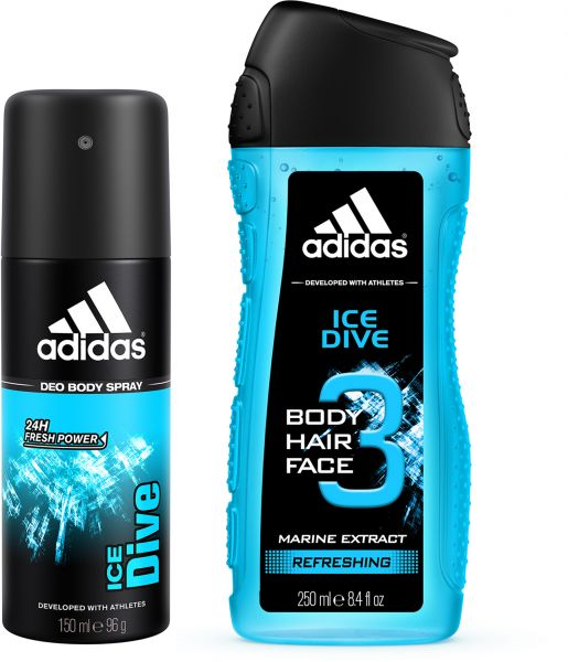 62ea284975e0 adidas Ice Dive Set for Men - Deodorant Body Spray