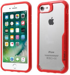a881434852 Iphone 6 / 6S - Ipaky Anti-Drop Pc / Tpu Combo Back Case Covers - Red