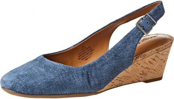 e80829cfdd5 Easy Spirit Wedge Shoes for Women - Blue