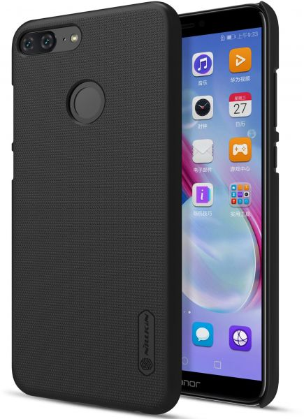 official photos 00177 46d1a HUAWEI Honor 9 Lite Super Frosted Shield Back Case [Black Color] BY ...