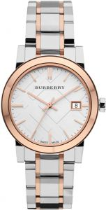 4cac424845c21 Burberry City Women s Silver Dial Stainless Steel Watch - BU9105