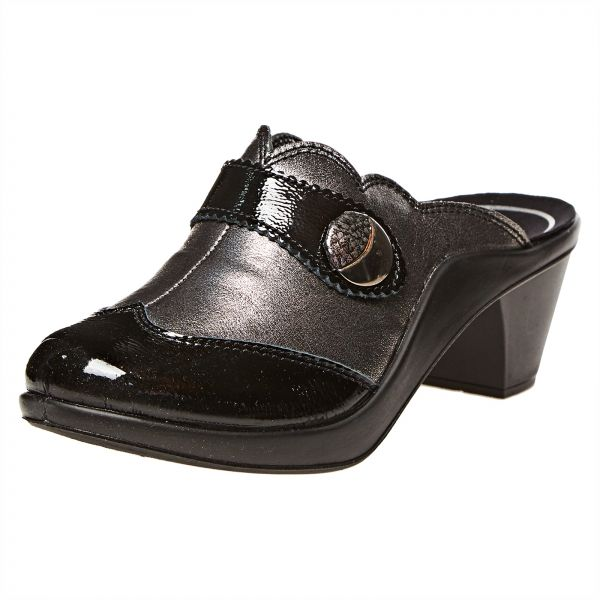 818ee27c4 Romika Black Mule Slipper For Women