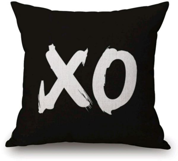 XO Or OX Designed Best Fabric Pillow Case 40x40cm Souq UAE Best Best Fabric For Decorative Pillows