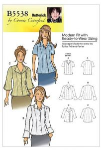 ed2cc38859e Butterick Patterns B5538 Misses   Women s Blouse