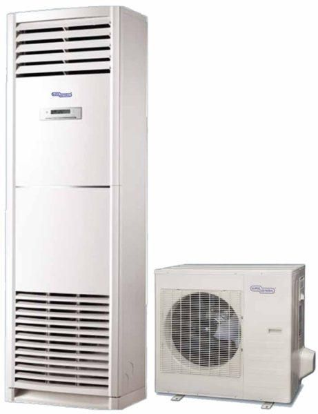 Super General 48000 Btu 8 Ton Floor Standing Air Conditioner Scroll Compressor R22 Refrigerant Sgfs48he