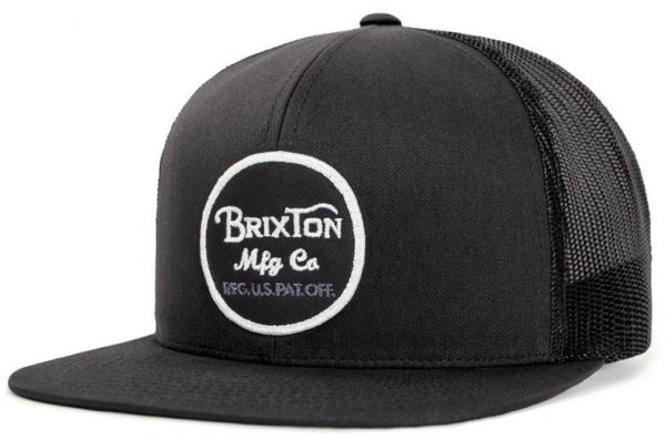 Brixton Men s Wheeler Medium Profile Adjustable Mesh Hat b80f8603d06