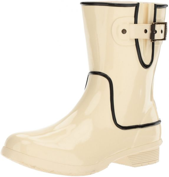 0925c32dbe1b4 Chooka Women s Waterproof Mid-Height Printed Memory Foam Rain Boot ...
