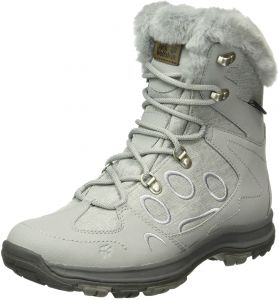 e9d78f8291 Jack Wolfskin Women's Thunder Bay Texapore Mid W Fashion Boot, Alloy, 9.5 D  US