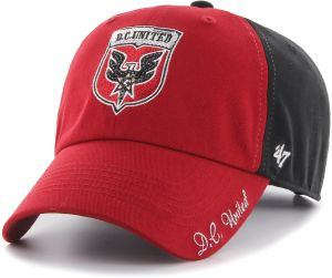 b75faf78dfa MLS D.C. United Women s  47 Sparkle Sequin Two-Tone Clean Up Adjustable Hat