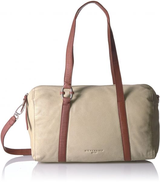 d1ab75a8b1c8 Liebeskind Berlin Women s Pokolaw7 Leather Satchel with Ring Detail