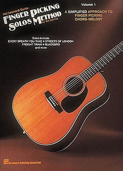 Souq | Hal Leonard Guitar Finger Picking Solos Method: Volume 1 | UAE