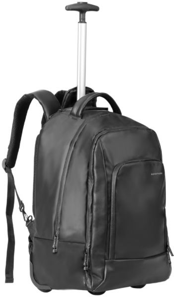 Promate Trolley Laptop Backpack, Multi-Terrain High Volume Trolley Bag with  Secure Multiple Compartment and Splash Proof for Up to 15.6 Inch Laptop, ... fd5e91bf2c