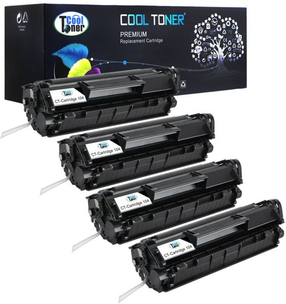 Cool Toner 4 Pack 2000 Pages Compatible Toner Cartridge Replacement