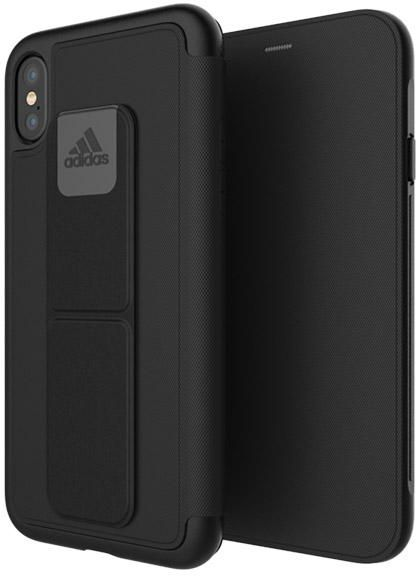 release date 128a7 c6006 ADIDAS Folio Grip Case Black for iPhone X