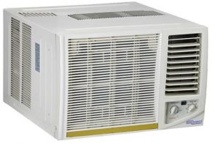 Super General 18000 BTU 1.5 Ton Window Air Conditioner, T3 Rotary Compressor, R410a Refrigerant with Easy to Clean Filter SGA19-41HE