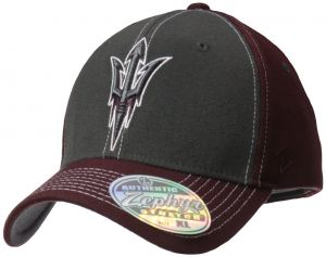 52f0a30f325 Zephyr NCAA Arizona State Sun Devils Men s Powerhouse Z-Fit Cap