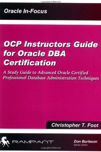 Souq | OCP Instructors Guide for Oracle DBA Certification: A Study ...