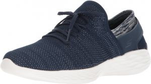 615e8cf13 للنساء من Skechers Performance you-14960 حذاء رياضي - Blue - 8 B(M) US