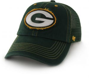 246cb605008  47 NFL Green Bay Packers Flexbone Closer Stretch Fit Hat