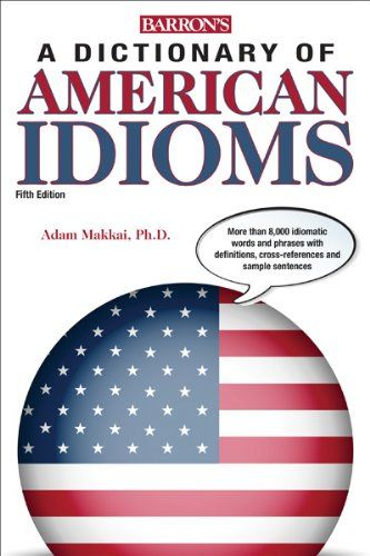 Souq Dictionary Of American Idioms Barrons Dictionary Of