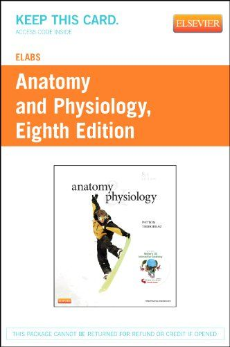 Souq   eLabs for Anatomy & Physiology (User Guide and Access Code ...