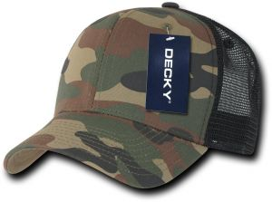 DECKY Cotton Curve Bill Trucker Cap 71d9fde315d