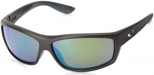 85d5113ae62 Costa del Mar Unisex-Adult Saltbreak BK 11 OGMGLP Polarized Iridium Wrap  Sunglasses