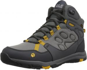 54955a8e70 Jack Wolfskin Men's Activate Texapore Mid M Hiking Boot, Burly Yellow Xt,  US Men's 13 D US