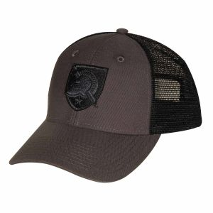 9c27f32690349 Ouray Sportswear NCAA Army Black Knights Industrial Canvas Mesh Cap