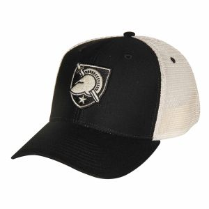 524496d41c5d2 Ouray Sportswear NCAA Army Black Knights Soft Mesh Sideline Cap