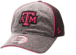 promo code 49752 ba79a NCAA Texas A M Aggies Adult Women s Fierce Women s Performance Hat,  Adjustable Size, Heather Gray Black