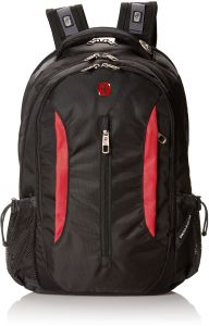 Swiss Gear SA1288 Black with Red Laptop Backpack - Fits Most 15 Inch  Laptops and Tablets 43c59620ab51e