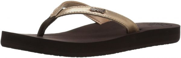 1fa385e2fba870 Reef Women s Cushion Luna Flip Flop