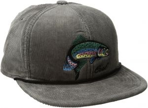 4dc520dd20c Coal Men s The Wilderness Hat Adjustable Corduroy Snapback Cap