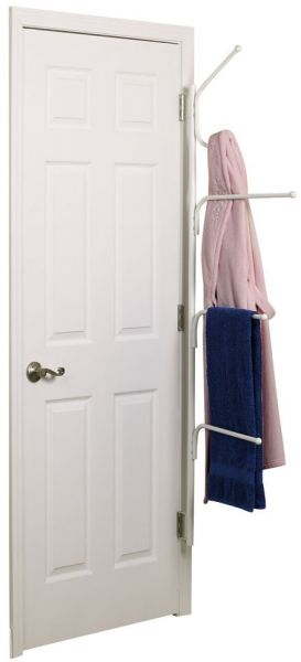 Household Essentials H12101 Hinge It Clutterbuster Towel Bars And